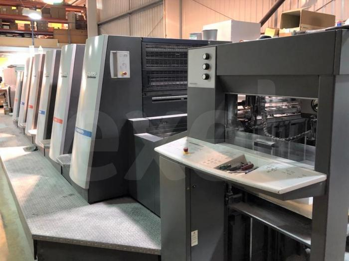 Photo of 2011 HEIDELBERG SPEEDMASTER XL 75-5 + LX